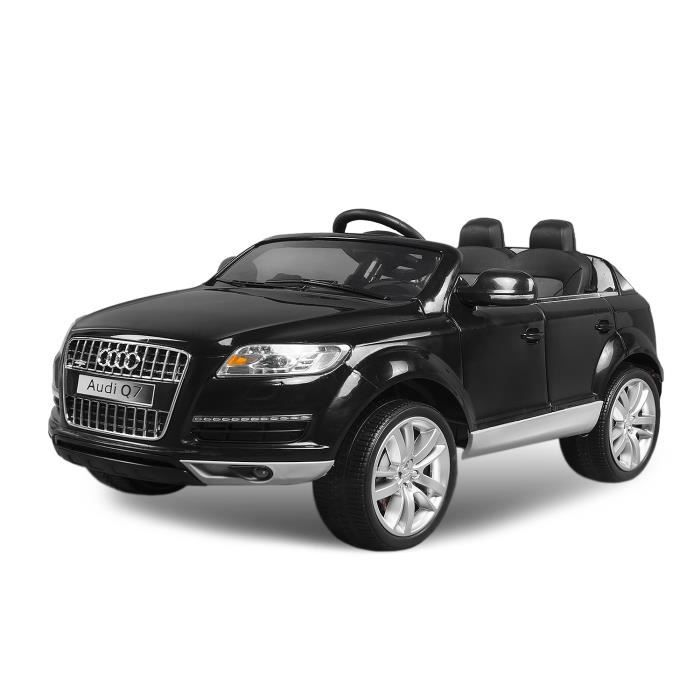 voiture lectrique pour enfant audi q7 noir achat. Black Bedroom Furniture Sets. Home Design Ideas