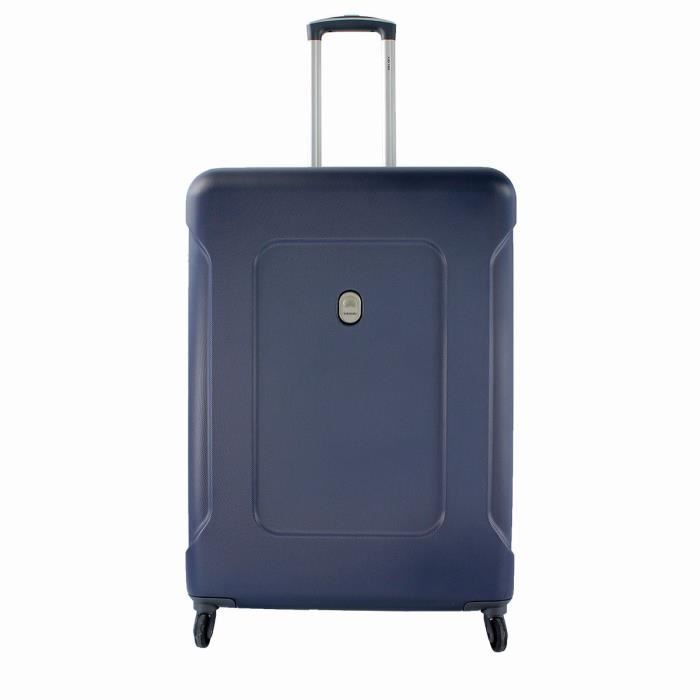valise rigide ison 4 roues 76 cm navy blue 02 achat vente valise bagage 3219110371826. Black Bedroom Furniture Sets. Home Design Ideas