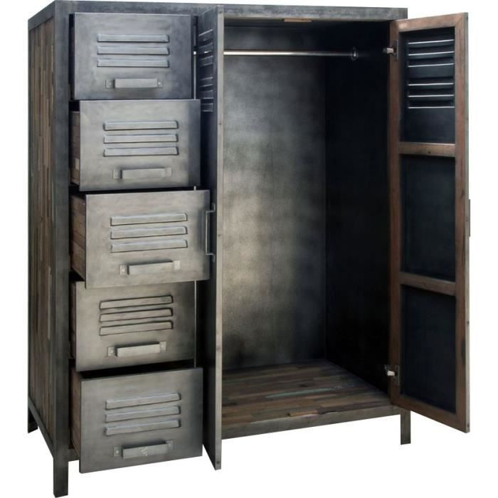 Armoire M 233 Tal 110 X 145 Cm Besi Inwood Achat Vente