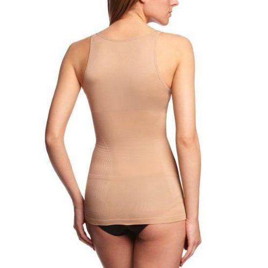 Kefali Cologne à Lanières Sans Manches Body Femmes Caraco Débardeur Bikini dos body
