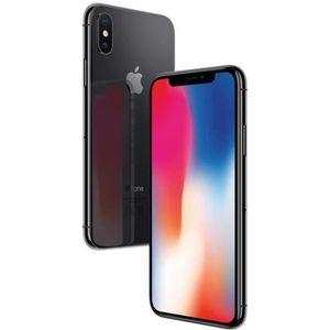 SMARTPHONE APPLE iPhone X - 64 Go - Gris Sideral - Reconditio