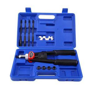 58DY 1 Set 86 pcs /Écrou /à riveter Kit de rivetage M3 M4 M5 M6 M8 /Écrou /à sertir aveugle