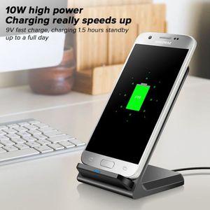 CHARGEUR TÉLÉPHONE Chargeur sans Fil,10W Chargeur Rapide pour Samsung