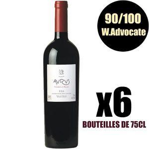 VIN ROUGE X6 Aurus 2005 75 cl Allende AOC Rioja Vin Rouge