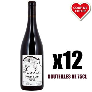 VIN ROUGE X12 Mammouth Rouge 2015 75 cl Domaine Balagny Juli