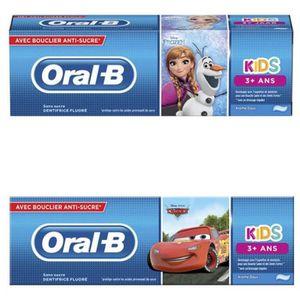 DENTIFRICE oral b dentifrice kids 3-6 ans 75ml
