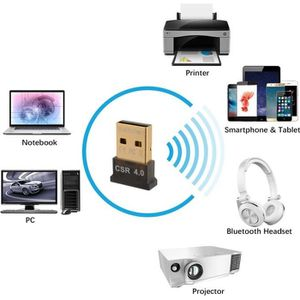 Récepteur audio Mini USB Adaptateur Bluetooth V 4.0 Dongle Bluetoo