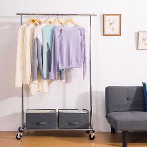 PENDERIE MOBILE Portant,Penderie à vêtements,Penderie Mobile Pliab
