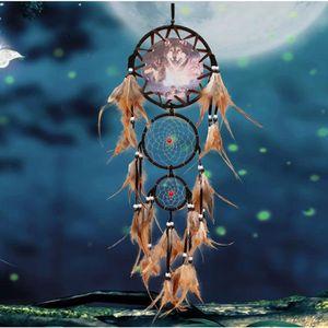 ATTRAPE-RÊVES Dream Catcher Pendentif Nouveau style indien capte