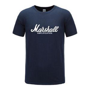T-SHIRT T-shirt Hommes Marshall Logo Amplis Amplification
