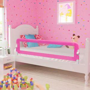 BARRIÈRE DE LIT BÉBÉ vidaXL Barrière de lit pour enfants 150 x 42 cm Ro