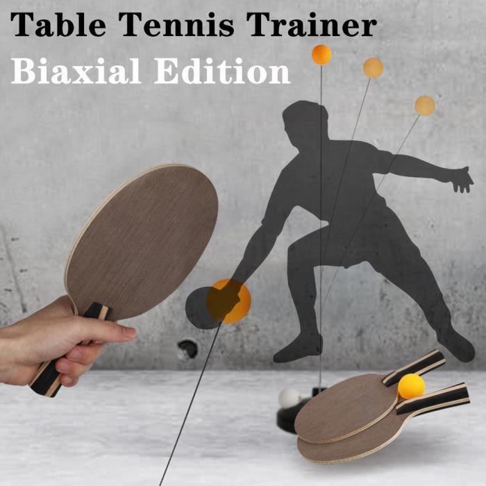 Dispositif d'élasticité de machine de formation d'axe de formateur de tennis de table d'adulte d'enfants @Buuiude336