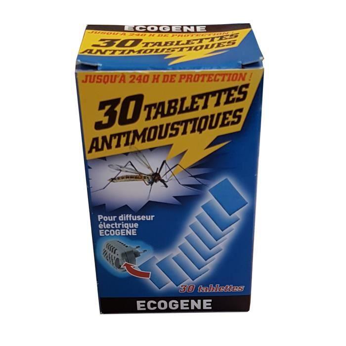 Recharge De 30 Plaquettes Anti Moustiques Pour Diffuseur Electrique