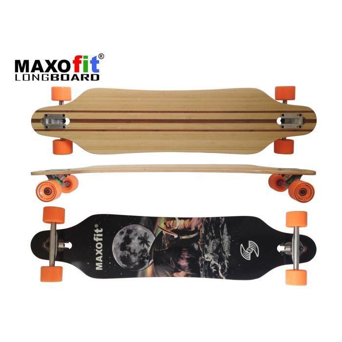 "Longboard ""Mammut N°15"",103 cm, 9 couches, , ABEC11, MAXOfit®"