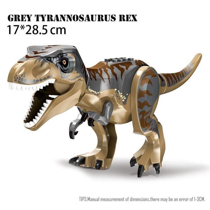 Figurines de dinosaures Jurassic World 2, jouets à assembler, modèles dinosaure T Rex Indominus i-rex, cadeau pour [91847A5]