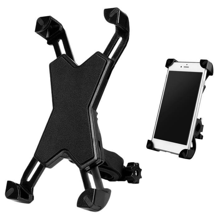 Support de téléphone de vélo rotatif à 360 ° pour vélo de route/VTT/Moto Noir