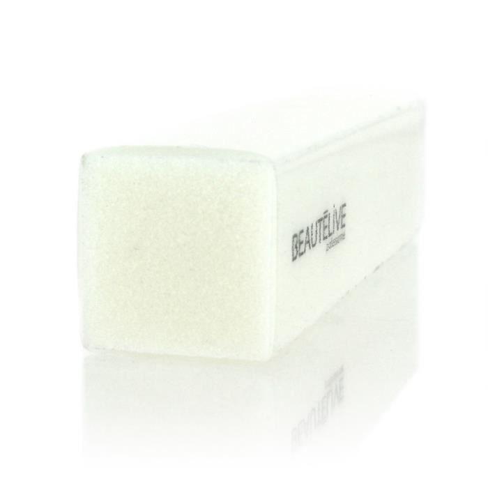 , Lime à ongles, Bloc ponce blanc grain 150 , Beautélive, Femme
