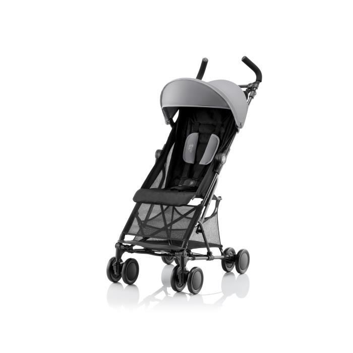 BRITAX RÖMER Holiday² Poussette canne - Steel grey