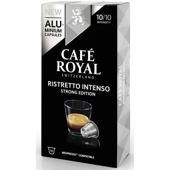CAFE ROYAL compatible Nespresso Alu Ristretto Intenso X10
