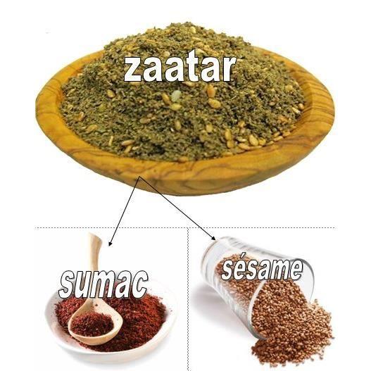 Zaatar Libanais 200 Gr (Fait Maison)