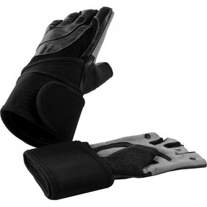 Gants d'entrainement + bande de soutien pour articulations Taille XL