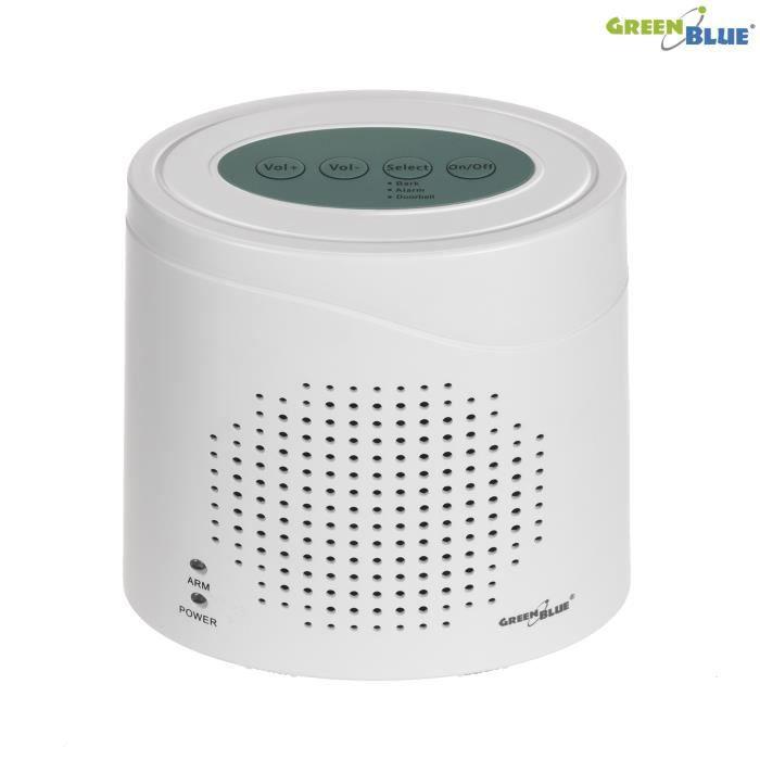 Alarme sans fil GreenBlue GB115 avec balise d'aboiement
