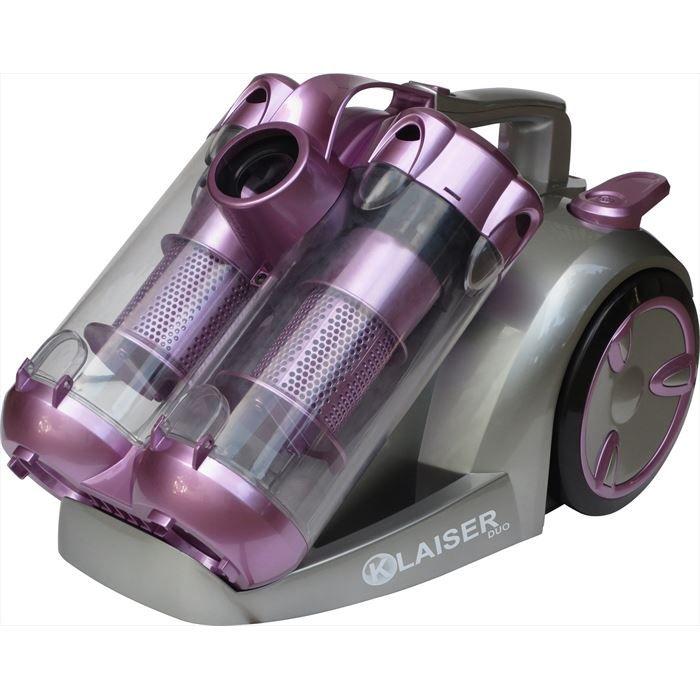 KLAISER Aspirateur Sans Sac 2400W KLAISER Confort BS112D Technologie DUO