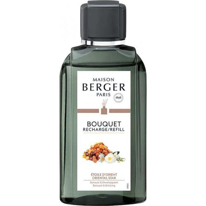 maison berger - recharge bouquet parfumé etoile d'orient 200 ml