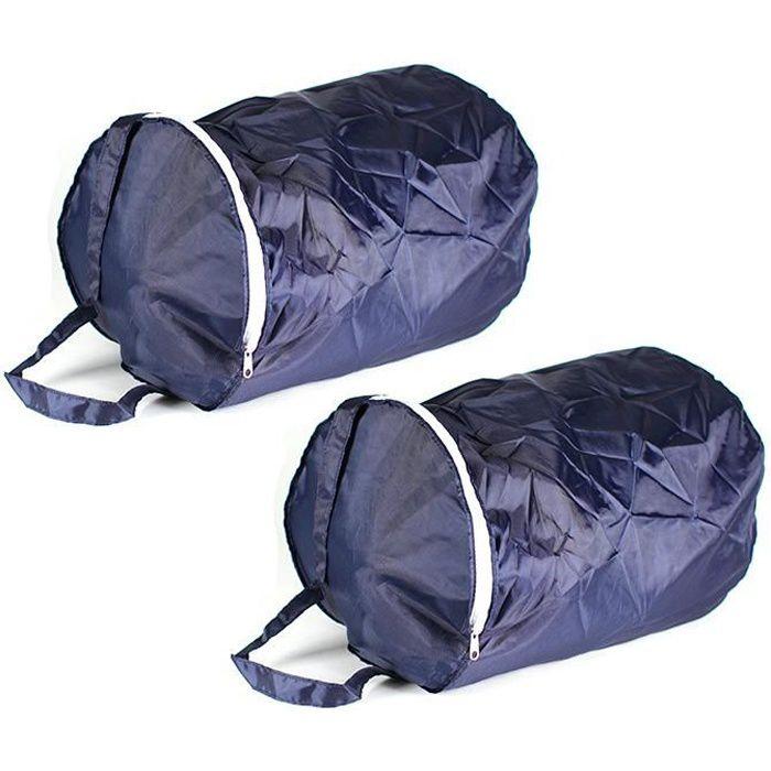 Housses de rangement 24L pour couette et sac de couchage - Lot de 2