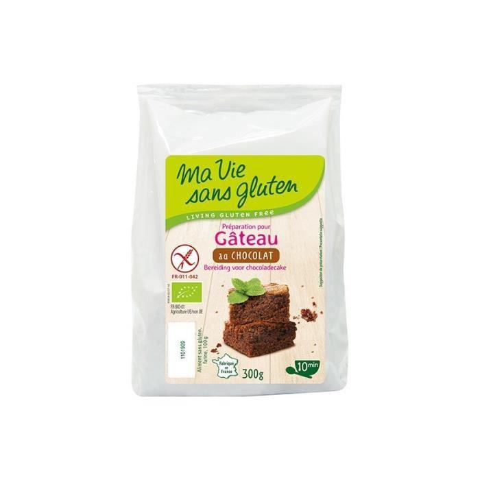 Gâteau au chocolat, 300g, Ma vie sans gluten