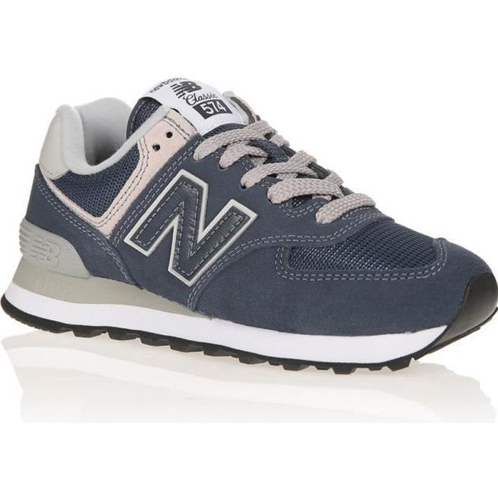 NEW BALANCE Baskets 574 Bleu Mixte