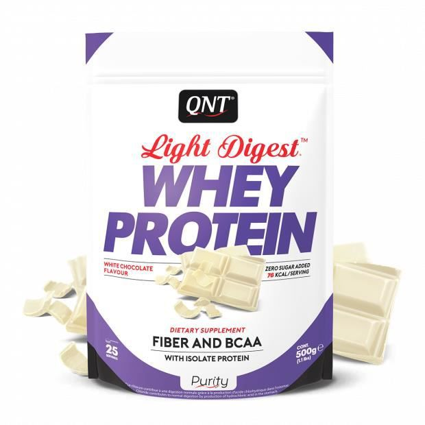 Light Digest Whey Protein Chocolat Blanc 500 g