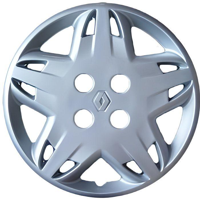 Enjoliveurs de roues RENAULT CLIO 1 13 Kit de 4 pieces