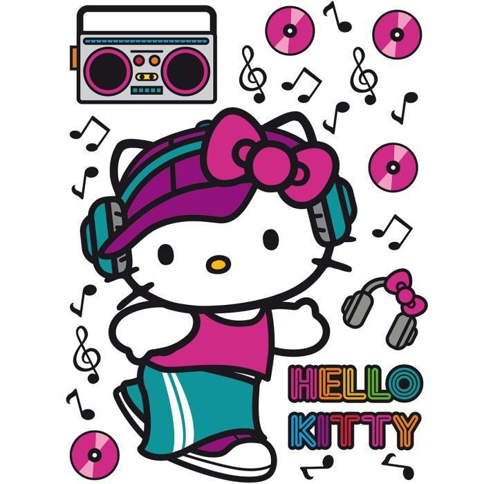 Stickers géant Hello Kitty Street Sanrio