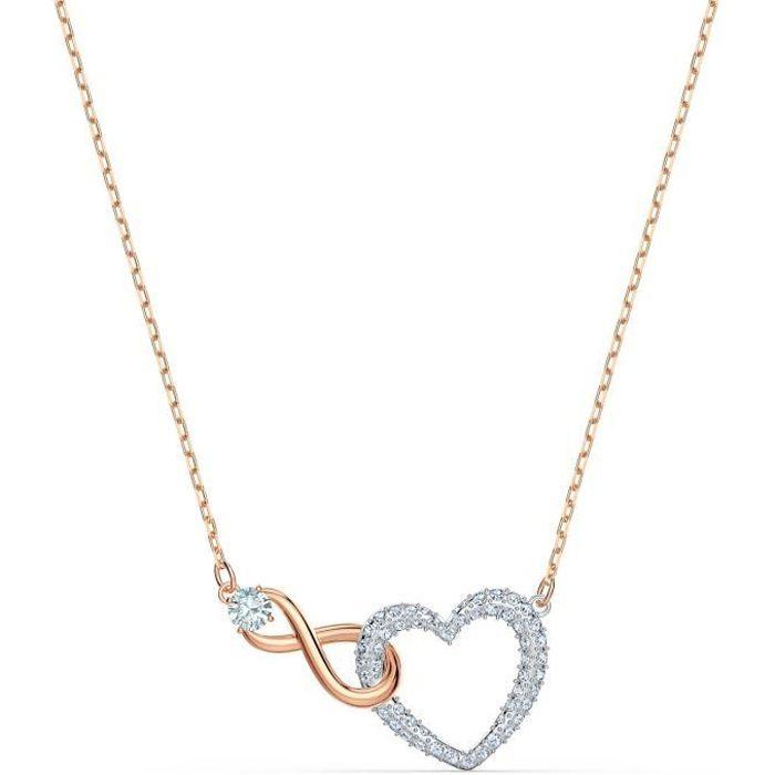 Sautoir - Collier - SWAROVSKI - Collier Swarovski Infinity Heart