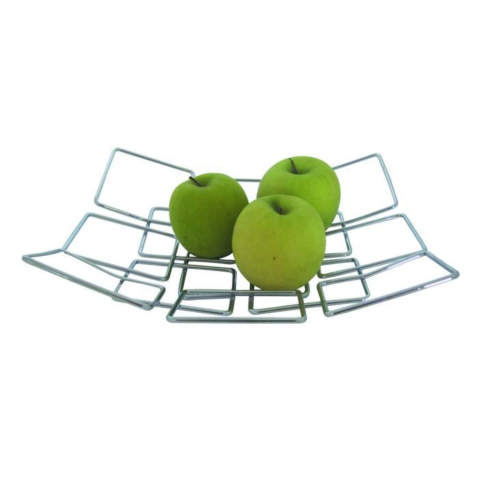 corbeille fruits square gris achat vente corbeille pani re cdiscount. Black Bedroom Furniture Sets. Home Design Ideas
