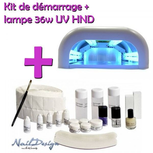 kit manucure n 1 professionel hnd lampe uv achat vente set manucure p dicure cdiscount. Black Bedroom Furniture Sets. Home Design Ideas