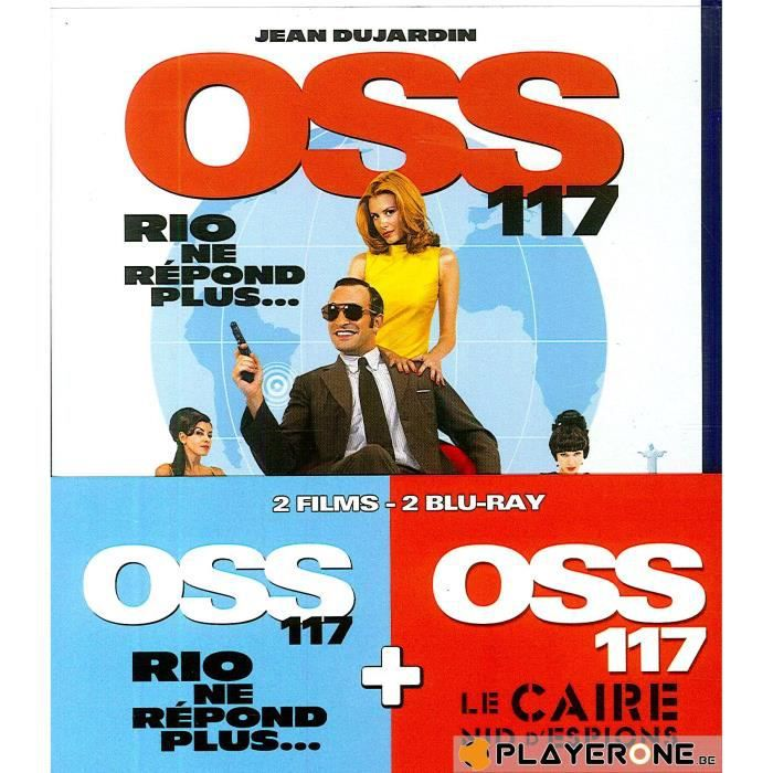 Blu Ray Oss 117 Coffret Le Caire Rio Blu Ray Fr En Blu Ray Film Pas Cher Cdiscount