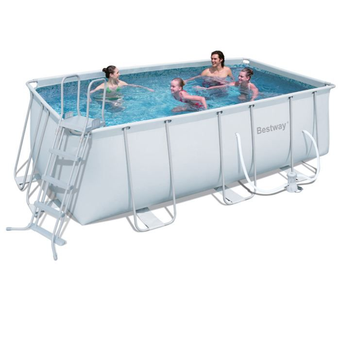 piscine tubulaire rectangulaire x x