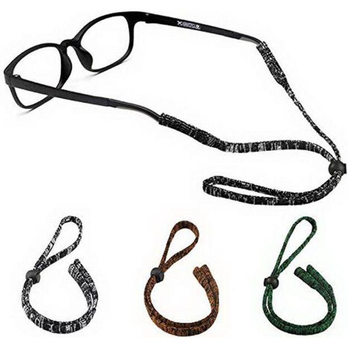 Sport Lunettes Support Fixe Sangles Ajustable Chaine de Lunettes. Hocaies Cordon Lunettes Enfant