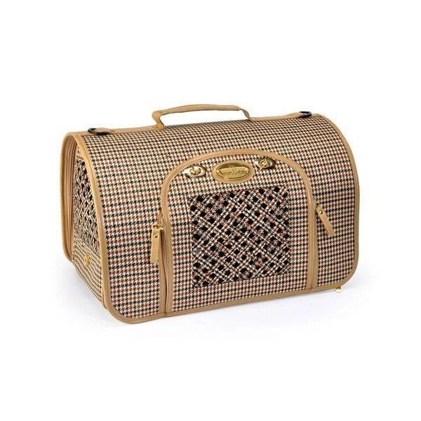 sac de transport pied poule pour chien et chat achat vente panier de transport sac de. Black Bedroom Furniture Sets. Home Design Ideas