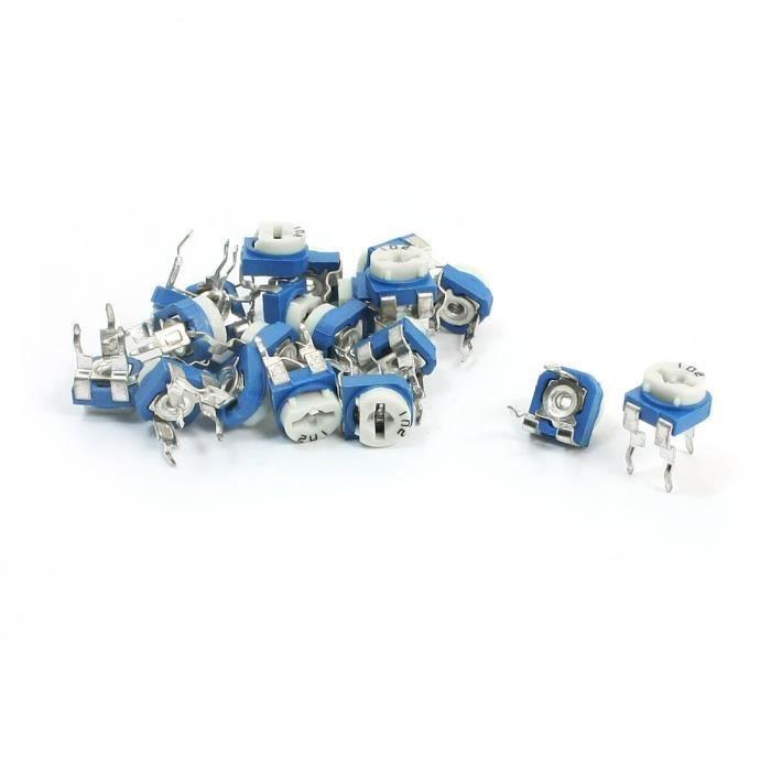 50pcs Neuf 5K ohm 3362P Trimpot Trimmer Potentiomètre 3362P-502