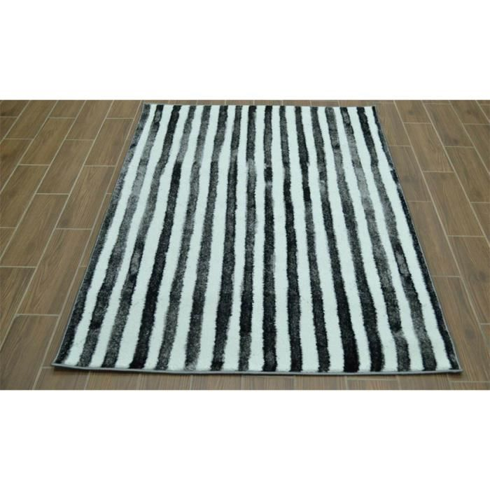 tapis rayures pas cher pastel 7501 14v07 cm 200x290 achat vente boudin de porte cdiscount. Black Bedroom Furniture Sets. Home Design Ideas