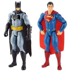 FIGURINE - PERSONNAGE Batman Dln32 - Pack De 2 Figure -  Vs Superman - 3