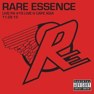 CD TECHNO - ELECTRO Rare Essence - Live Pa 18: Live at Cafe Asia 11-28