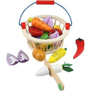 BRICOLAGE - ÉTABLI Fruits et Légumes Jouets Bois Legumes a Decouper A