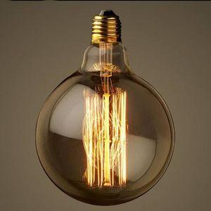 AMPOULE - LED Marchelec E27 40W 220V G125 Globe Rétro Edison Lam