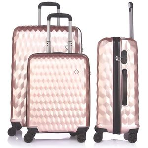 SET DE VALISES LYS - Set de 3 Valises  Polycarbonate rose gold Ri
