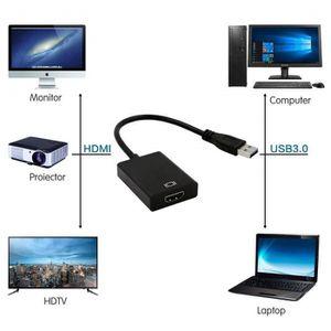 CARTE GRAPHIQUE INTERNE INECK® USB 3.0 vers HDMI Adaptateur Vidéo Carte Gr