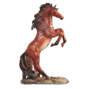 Amadeus Figurine de cheval cabr/é grand mod/èle